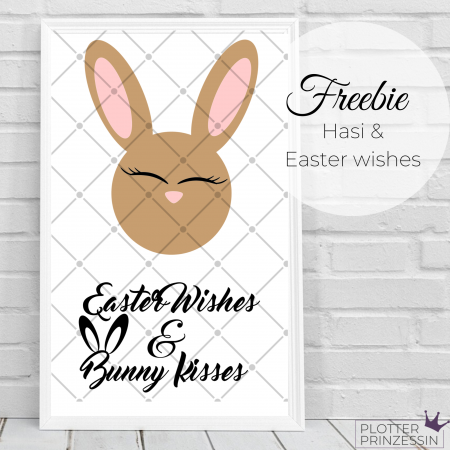 Freebie Hasi & Easter wishes