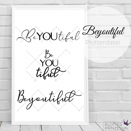 BeYOUtiful Plotterdatei